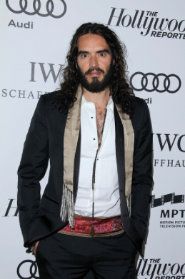 Russell Brand owns neither a razor or a hairbrush!
