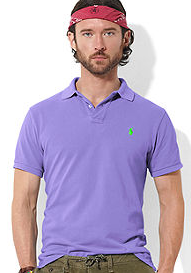 *polo shirts are acceptable when playing golf*
